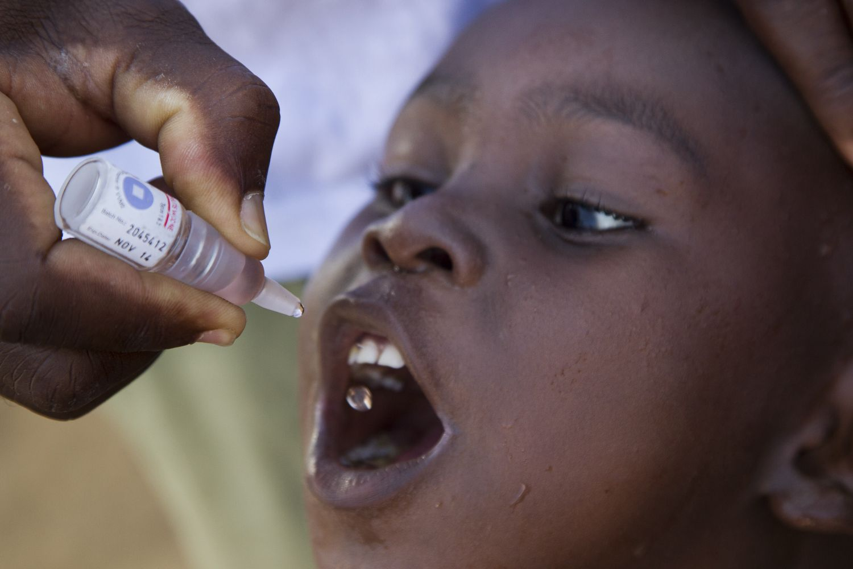 Lutter contre la polio